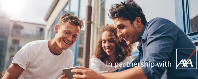 phone insurance in partnership with AXA