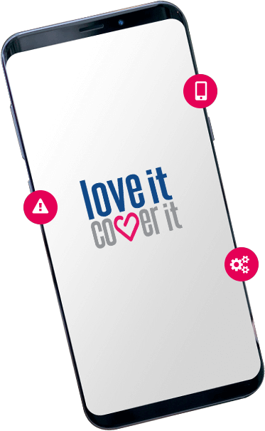 Samsung S9 insurance from loveit coverit