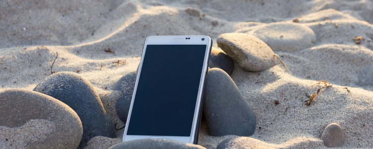 protect phone on holiday