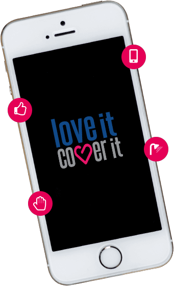 iPhone insurance - loveit coverit